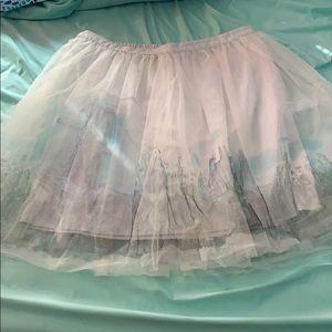 LC Lauren Conrad Cinderella skirt